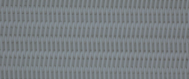 Spirofil spiral belt with flat filler strips